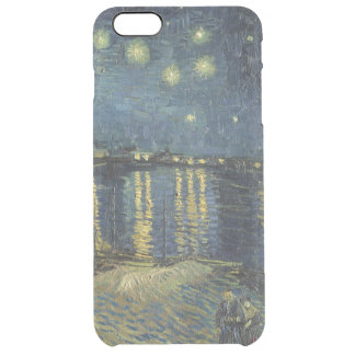 Vincent van Gogh | Starry Night Over the Rhone Clear iPhone 6 Plus Case