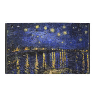 Vincent Van Gogh Starry Night Over The Rhone iPad Folio Case