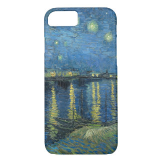 Vincent Van Gogh Starry Night Over the Rhone iPhone 8/7 Case