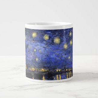 Vincent Van Gogh Starry Night Over The Rhone Jumbo Mug