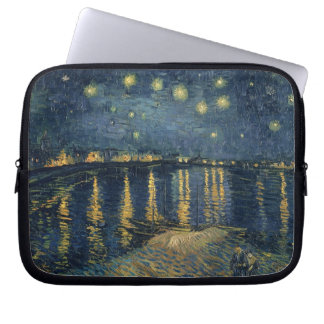 Vincent van Gogh | Starry Night Over the Rhone Laptop Sleeve