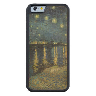 Vincent van Gogh | Starry Night Over the Rhone Maple iPhone 6 Bumper Case