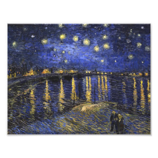 Vincent Van Gogh Starry Night Over The Rhone Photograph