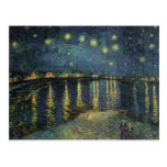 Vincent van Gogh | Starry Night Over the Rhone Postcard