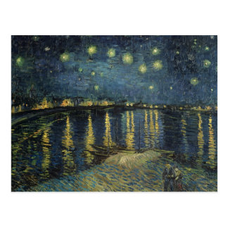 Vincent van Gogh | Starry Night Over the Rhone Postcard