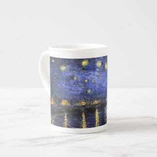 Vincent Van Gogh Starry Night Over The Rhone Tea Cup