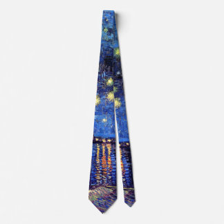 Vincent Van Gogh - Starry Night Over The Rhone Tie