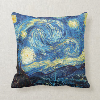 Vincent Van Gogh Starry Night Pillow