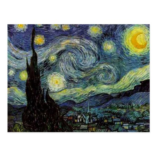 Vincent van Gogh - Starry Night Post Card