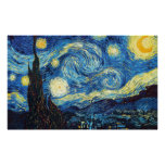 Vincent Van Gogh - Starry Night Posters