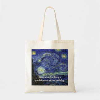 Vincent van Gogh, Starry Night Tote Bag