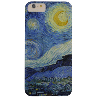 Vincent Van Gogh Starry Night Vintage Fine Art Barely There iPhone 6 Plus Case