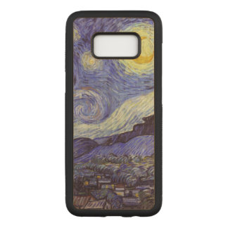 Vincent Van Gogh Starry Night Vintage Fine Art Carved Samsung Galaxy S8 Case