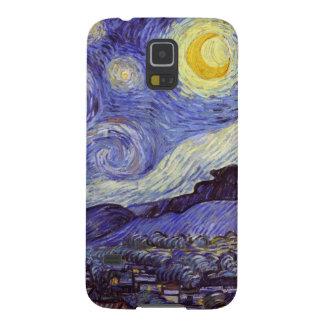 Vincent Van Gogh Starry Night Vintage Fine Art Case For Galaxy S5
