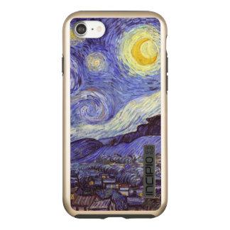 Vincent Van Gogh Starry Night Vintage Fine Art Incipio DualPro Shine iPhone 8/7 Case