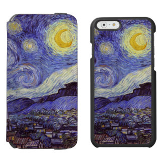 Vincent Van Gogh Starry Night Vintage Fine Art Incipio Watson™ iPhone 6 Wallet Case