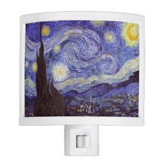Vincent Van Gogh Starry Night Vintage Fine Art Night Lights