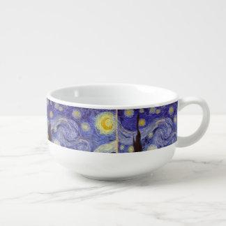 Vincent Van Gogh Starry Night Vintage Fine Art Soup Mug