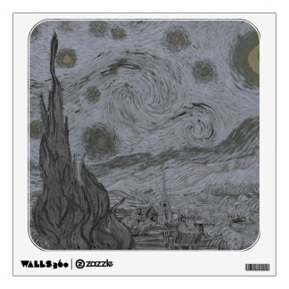 Vincent Van Gogh - Starry Night Wall Sticker