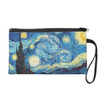 Vincent Van Gogh Starry Night Wristlet Purses