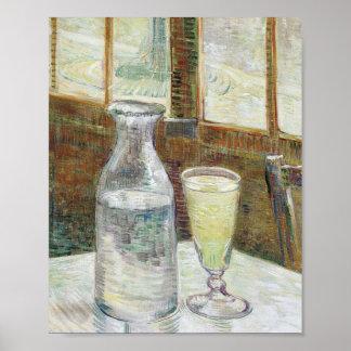 Vincent Van Gogh Still Life With Absinthe Fine Art Poster