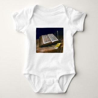 Vincent van Gogh Still Life with Bible Baby Bodysuit