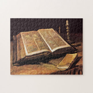 Vincent Van Gogh - Still Life With Bible Jigsaw Puzzle