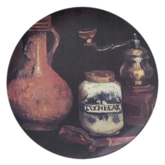 Vincent Van Gogh - Still Life With Coffee Mill Plate