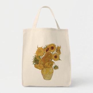 Vincent van Gogh Sunflower Tote Bag