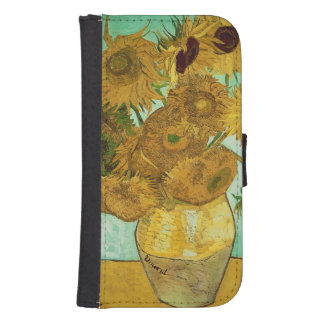 Vincent van Gogh | Sunflowers, 1888 Galaxy S4 Wallet