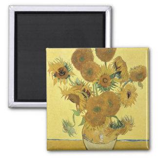 Vincent van Gogh | Sunflowers, 1888 Magnet