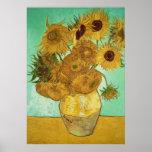 Vincent van Gogh   Sunflowers, 1888 Poster
