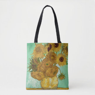 Vincent van Gogh | Sunflowers, 1888 Tote Bag