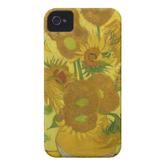 Vincent Van Gogh Sunflowers - Classic Art Floral Case-Mate iPhone 4 Cases