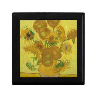 Vincent Van Gogh Sunflowers - Classic Art Floral Gift Box