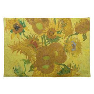 Vincent Van Gogh Sunflowers - Classic Art Floral Placemat