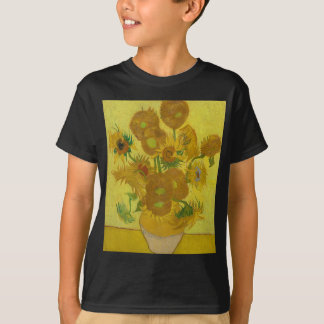 Vincent Van Gogh Sunflowers - Classic Art Floral T-Shirt