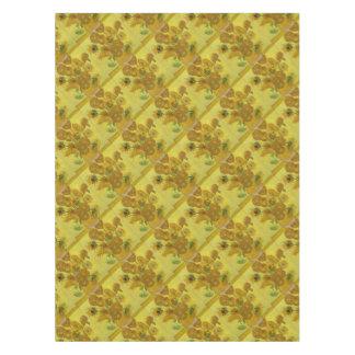 Vincent Van Gogh Sunflowers - Classic Art Floral Tablecloth