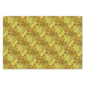 Vincent Van Gogh Sunflowers - Classic Art Floral Tissue Paper