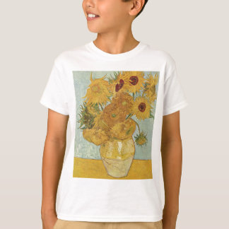 Vincent Van Gogh - Sunflowers - Lovely Floral Art T-Shirt