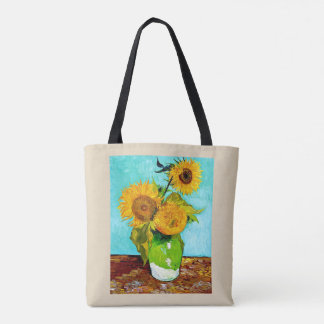 Vincent Van Gogh - Sunflowers Tote - Both Sides