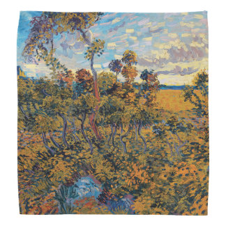 Vincent Van Gogh - Sunset at Montmajour Fine Art Bandana