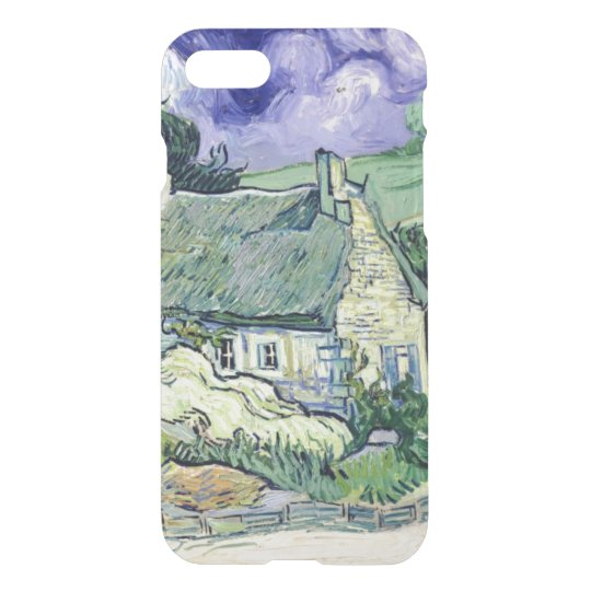Vincent van Gogh   Thatched cottages at Cordeville iPhone 7 Case