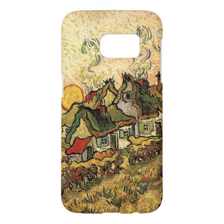 Vincent van Gogh-Thatched Cottages at Cordeville Samsung Galaxy S7 Case