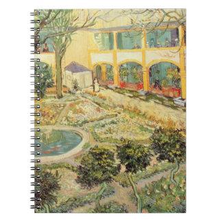 Vincent van Gogh | The Asylum Garden at Arles Notebook