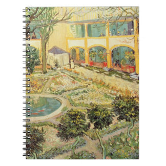 Vincent van Gogh | The Asylum Garden at Arles Spiral Notebook