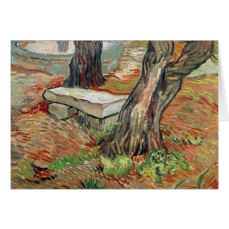 Vincent van Gogh | The Bench at Saint-Remy Card