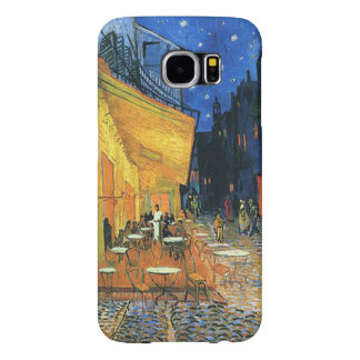 Vincent van Gogh-The Café Terrace Samsung Galaxy S6 Cases