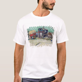 Vincent van Gogh | The Caravans, Gypsy Encampment T-Shirt