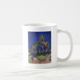 Vincent van Gogh - The Church at Auvers-sur-Oise Classic White Coffee Mug